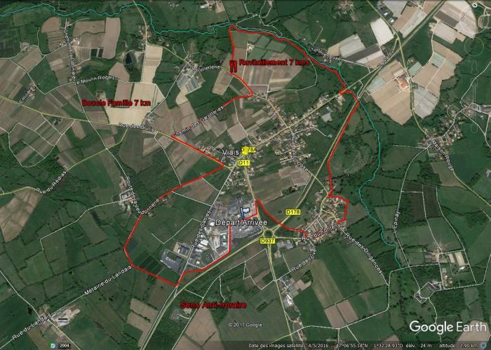 Parcours Boucle Famille 7 kms